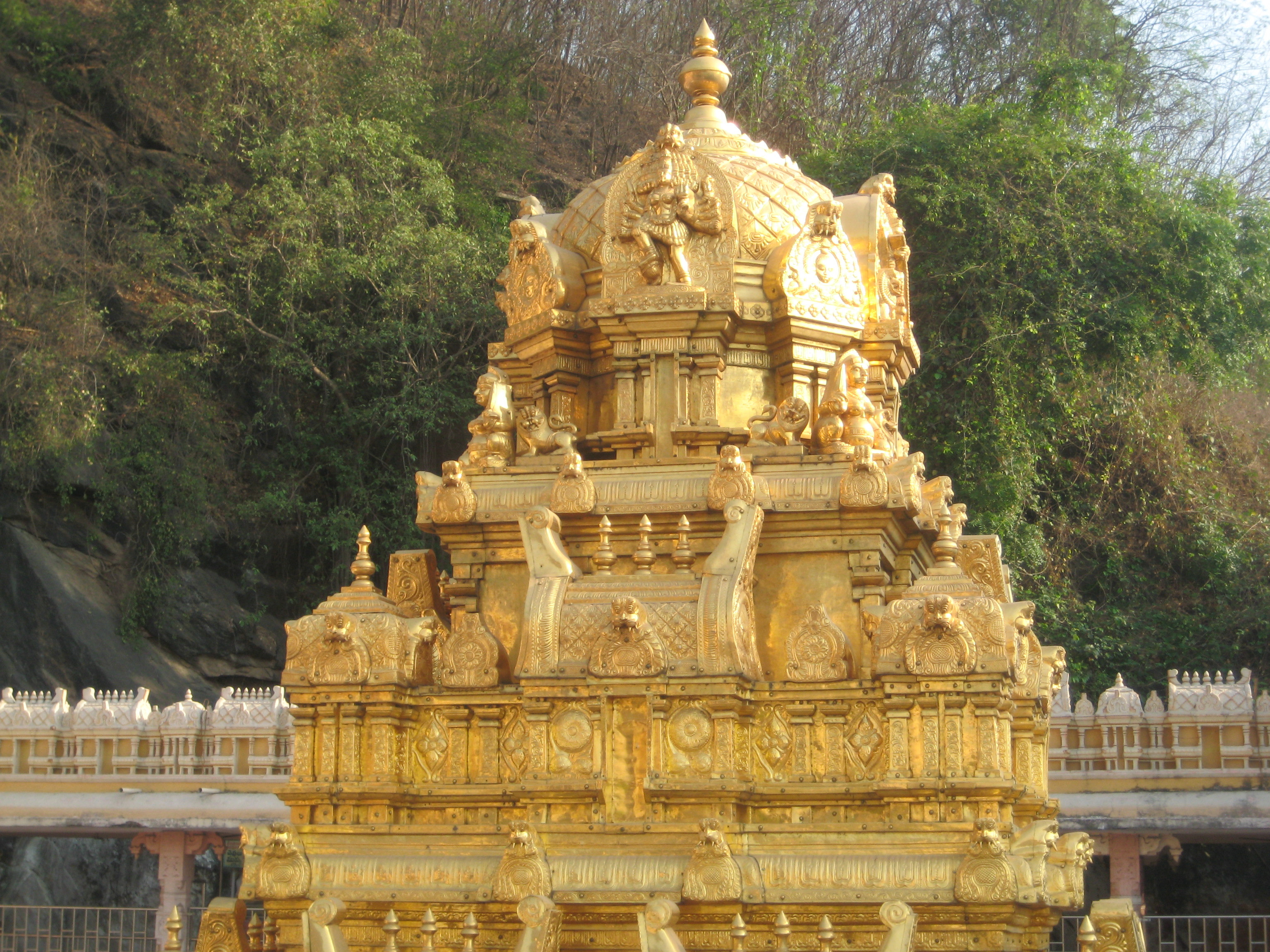 Vijayawada Durga devi main temple - VGTM city